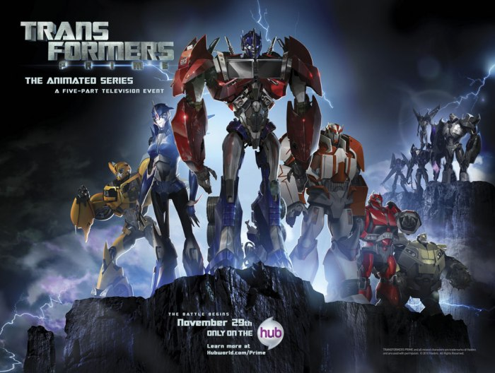 The_Hub_-_Transformers_Prime_Poster2
