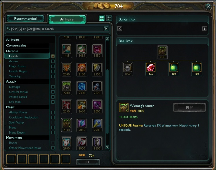 Warmog's Armor