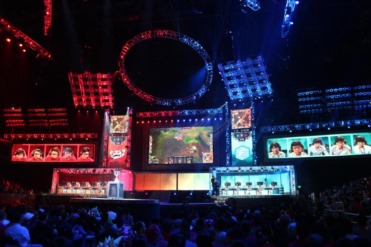 2012 World Championship Stage