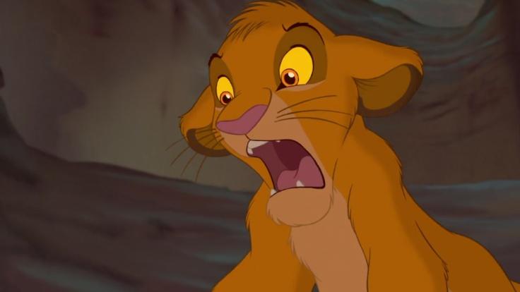 No! Disney Lion King fear