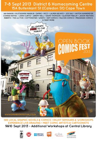 Open Book Comic Fest 2013 Poster