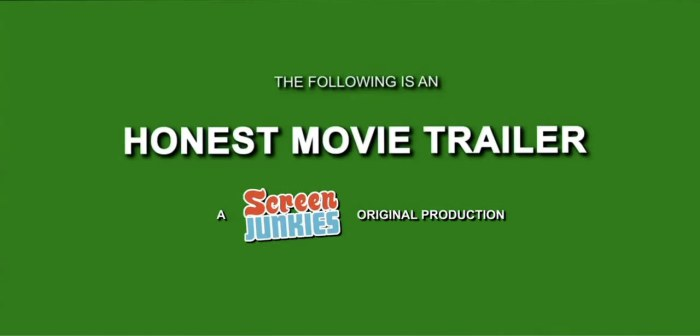 Honest Movie Trailers