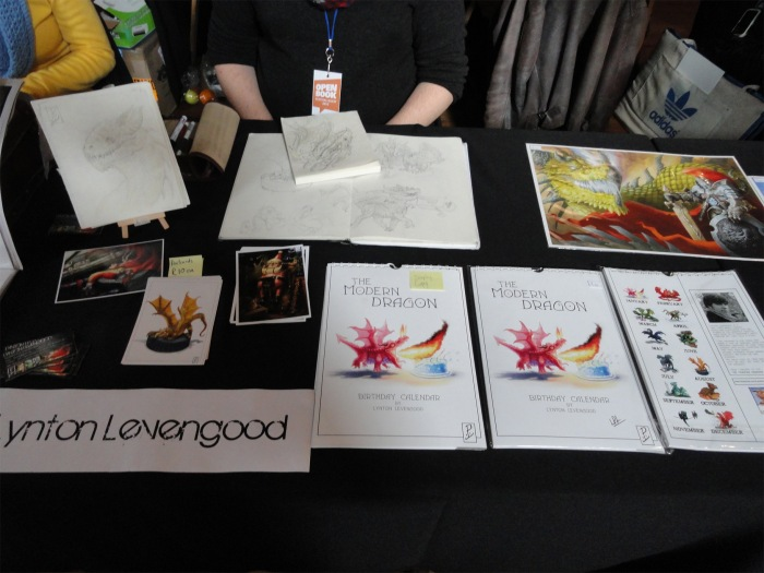 Lynton Levengood and his awesome dragons https://www.facebook.com/LyntonLevengoodIllustration