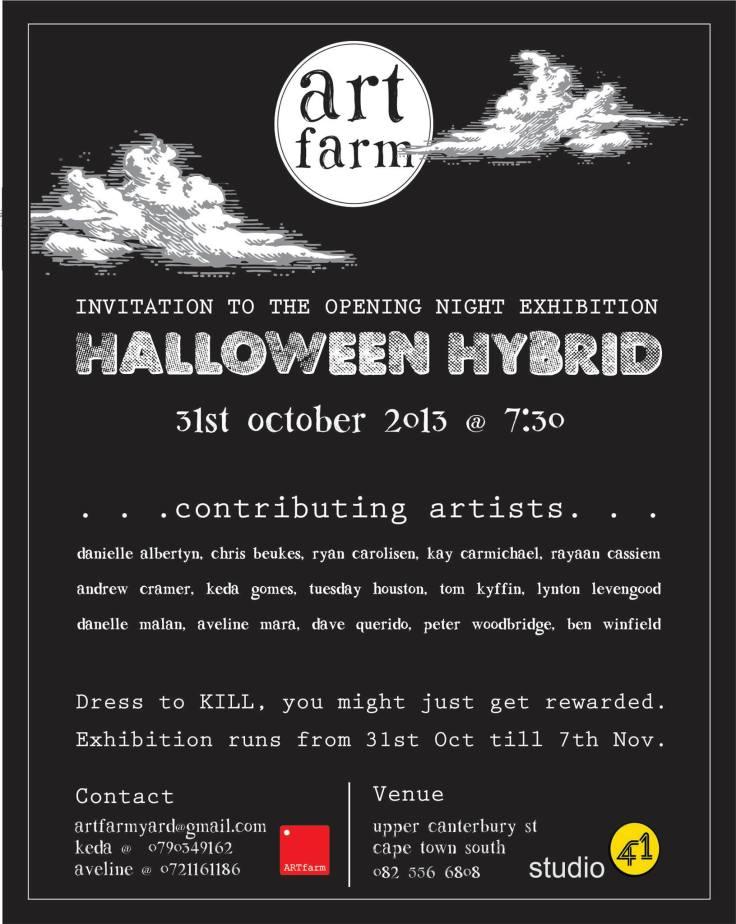 Art Farm Halloween Hybrid art exhibition