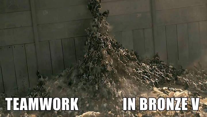 Bronze V meme