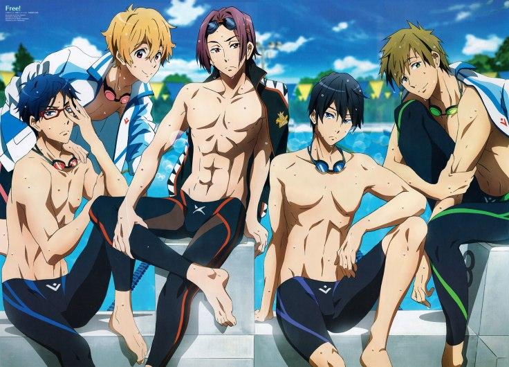 Free! Iwatobi Swim Club Wallpaper