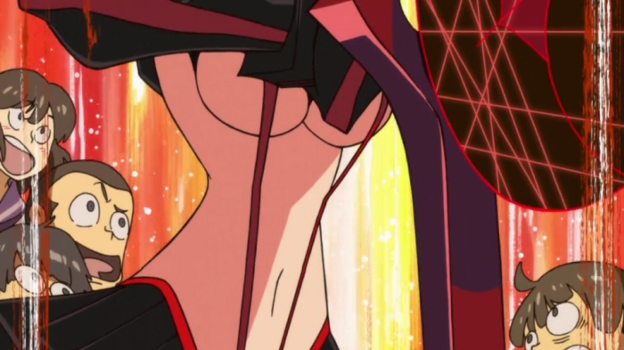 Kill la Kill fanservice screenshot 02