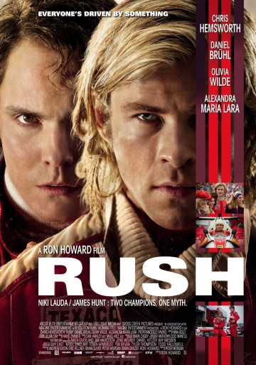 Rush movie poster
