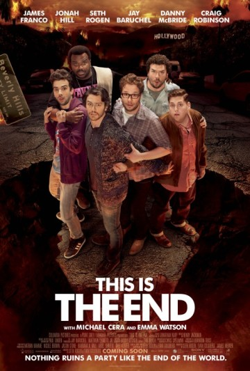 The is the End Poster