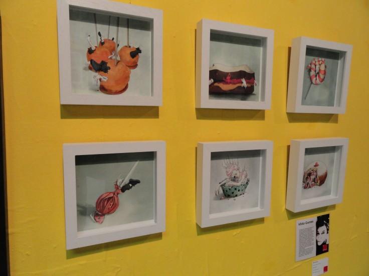 A few pieces by Keda Gomes