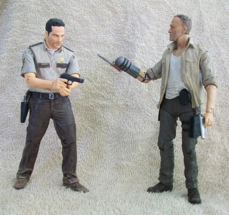 Merle Dixon Rick Grimes Walking Dead figures