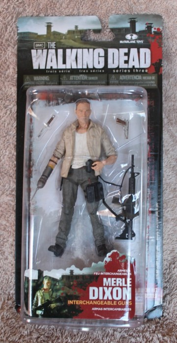 "McFarlane 5"" Merle Dixon Packaging"