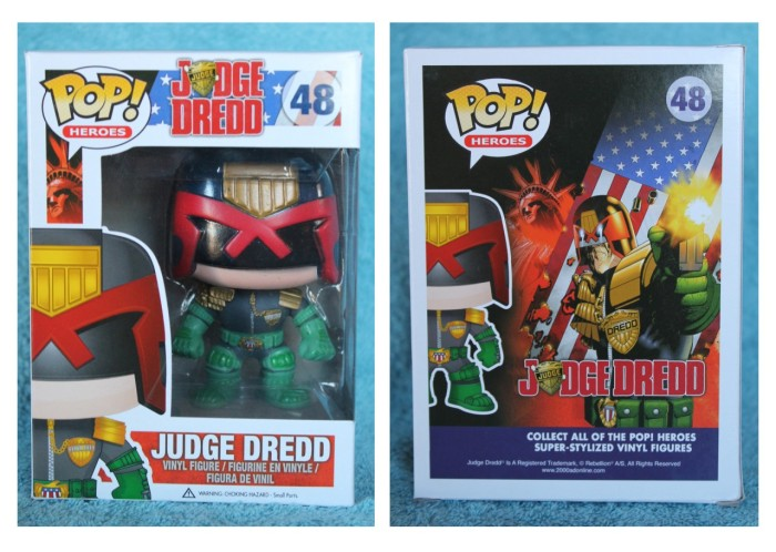 "Funko Pop! 4"" Judge Dredd Vinyl Figure Review"
