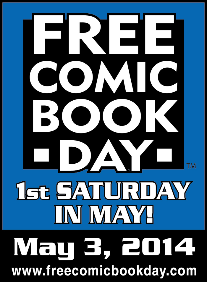 FCBD14 Free comic book day 2014