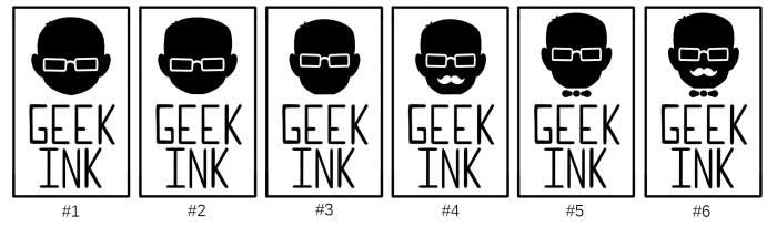 Geek Ink Logos