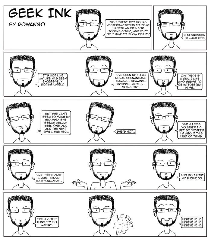 GI #3 Geek Ink Comic