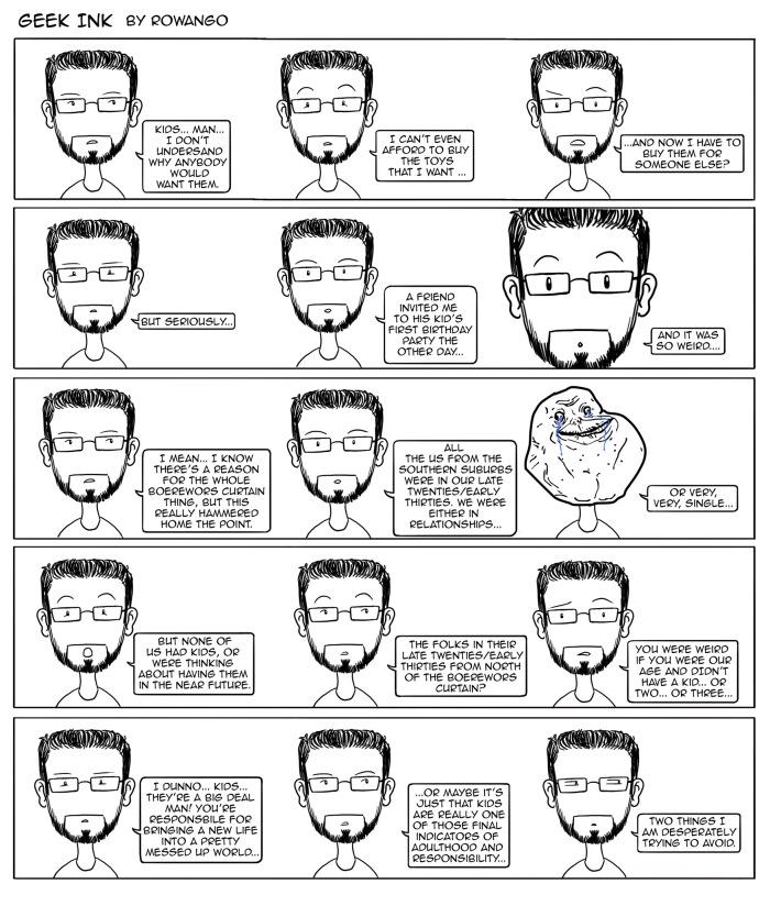 Geek Ink Comic #5