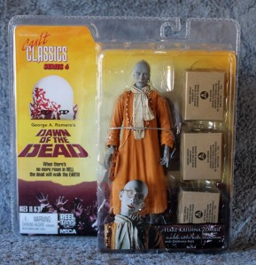 "Dawn of the Dead Neca 7"" Hare Krishna Zombie Review"