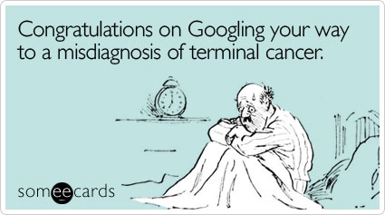 googling diseases