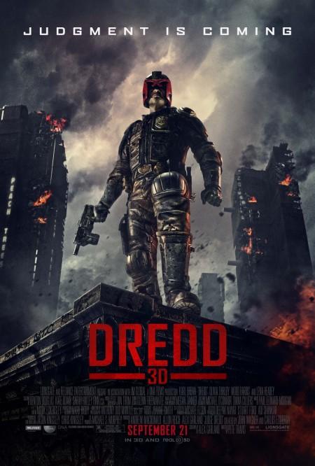 Dredd 2012 Movie Poster
