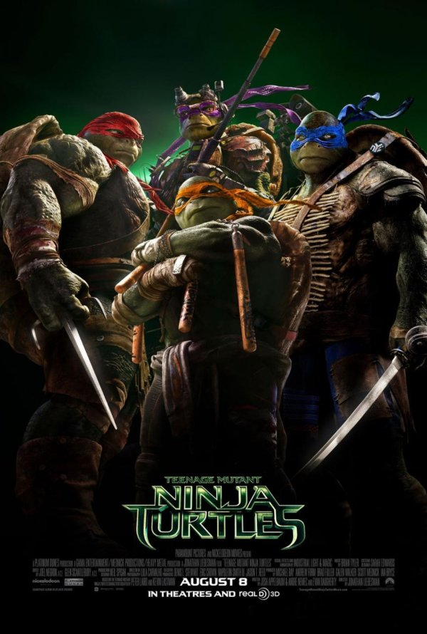 teenage mutant ninja turtles 2014 poster review