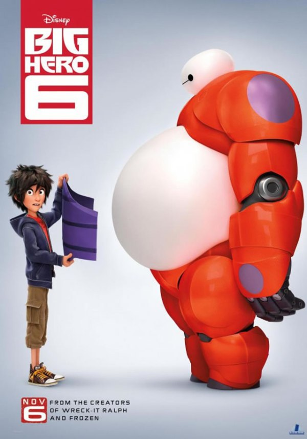 big hero 6 poster review