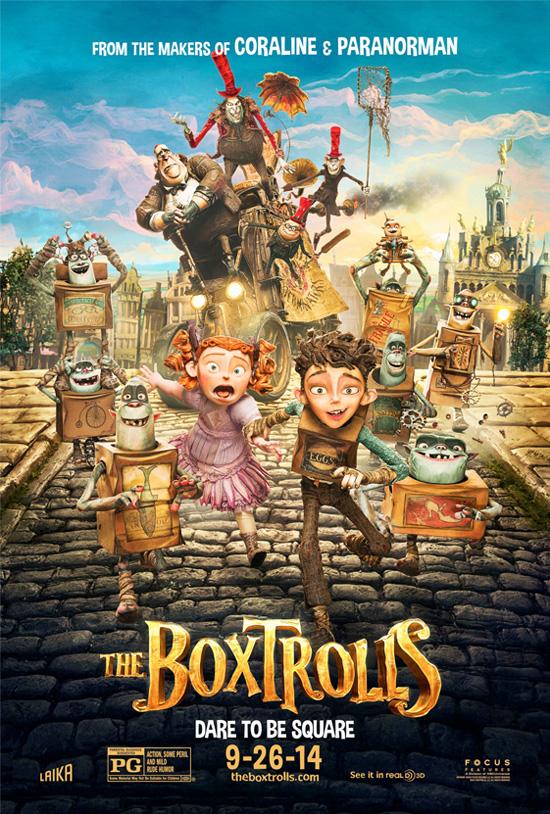 Boxtrolls movie poster