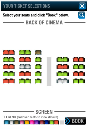 Cine Prestige Layout