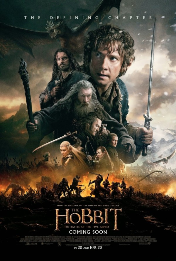 Hobbit-Battle of the Five Armies poster review
