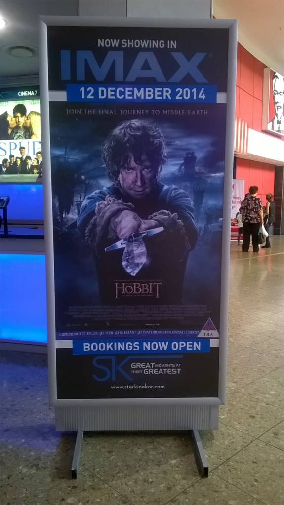 IMAX Cape Gate Cape Town The Hobbit Battle of the five armies