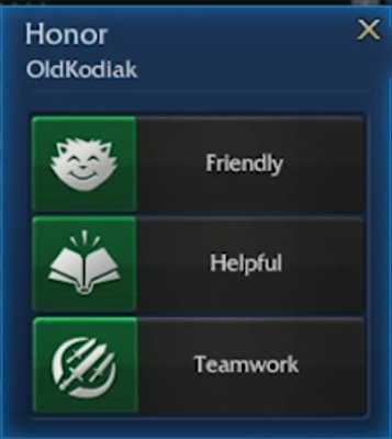 Teamwork would now mean that you'd like to play more games with this person.