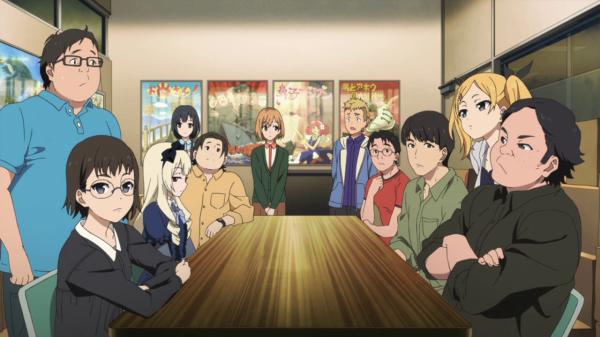 Shirobako meeting