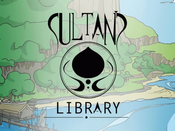 Sultan's-Library board game kick starter