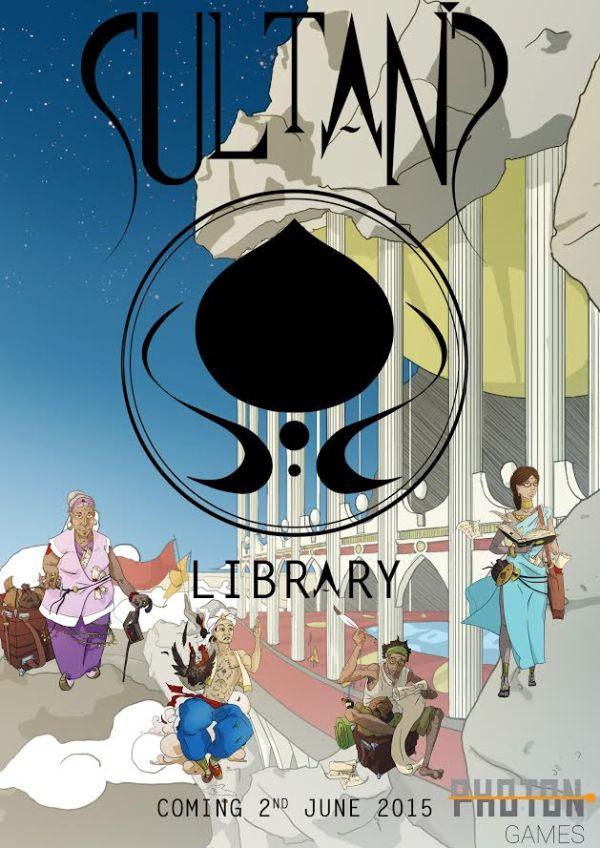 Sultans Library boardgame