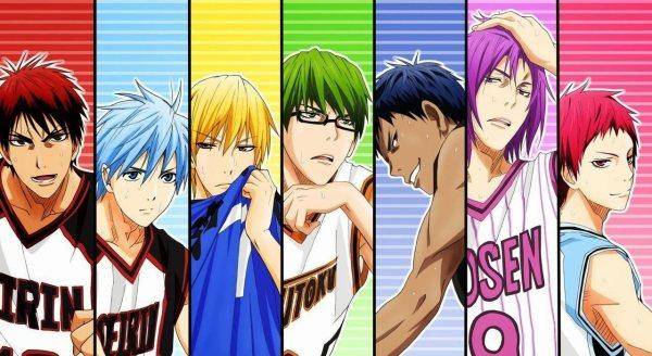 Kurokos Basketball Poster