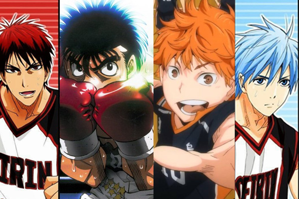 Sports anime poster