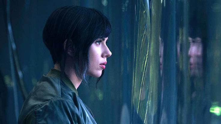 Scarlett Johansson Ghost in the Shell Major Kusanagi