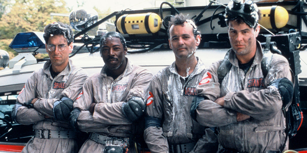 Excluding Harold Ramis, who has passed away, the entire original Ghostbusters crew is credited on the new film on IMDB.
